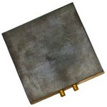 "SQUARE FLAT MARVERING HEAD (2 7/8"" x 2 7/8"" x 3/8"")"