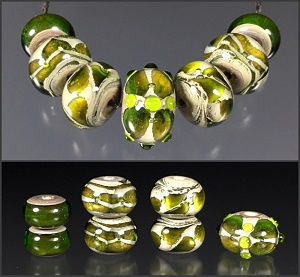 Space Gem Set #102 - Green
