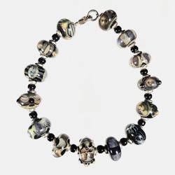 Galaxy Bead Bracelet
