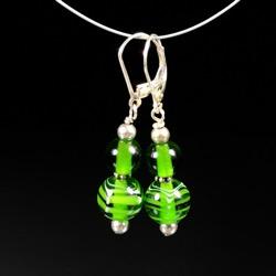 Earrings - Green #103